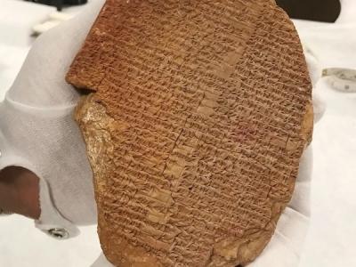 Gilgamesh torna in Mesopotamia