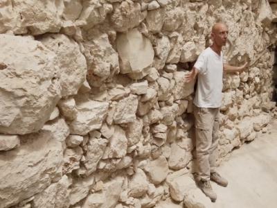 Riaffiora un altro tratto delle antiche mura di Gerusalemme