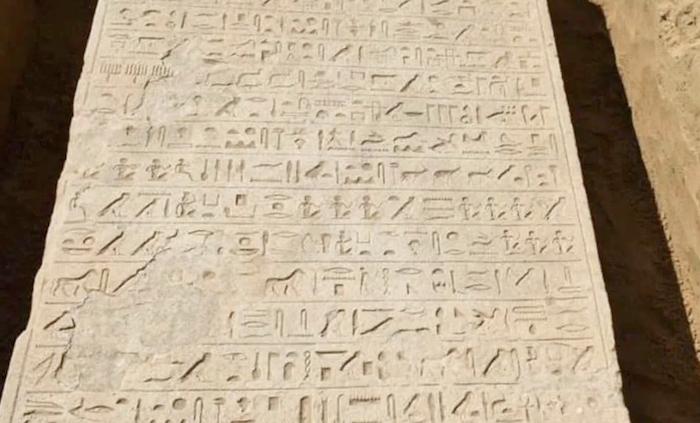 Un faraone protesse gli israeliti, rivela una stele