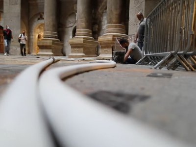 Riprendono i lavori nella basilica del Santo Sepolcro